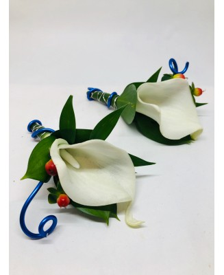 A buttonhole with a bit of craziness